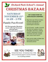 Orchard Park School Christmas Bazaar
