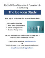 Participants needed for paid psychology research study