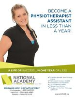 Become a PHYSIOTHERAPIST ASSISTANT in 10 MONTHS!