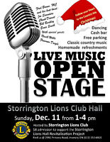 Classic Country Music OPEN STAGE