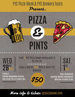 Pizza & Pints! Celebrate Pizza Week & Alberta Beer Week!