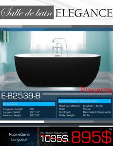 Sélection de bains Elegance noirs à partir de seulement 895$