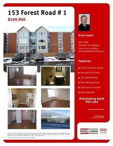 Just Reduced! 153 Forest Road - Unit 1