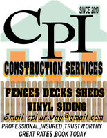 Fences,Decks, Sheds Contractor Company.