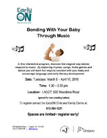 Bonding With Your Baby Through Music