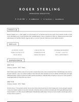 Stop blending in! Designer RESUMES, any budget
