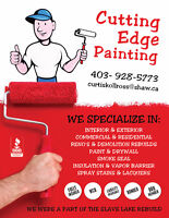 cutting edge painting