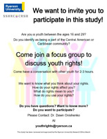 Youth Rights Study (16-29)!! msg for info!