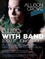Allison Crowe Band in Concert