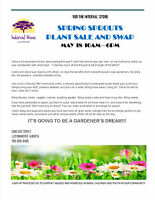 SPRING SPROUTS PLANT SALE AND SWAP