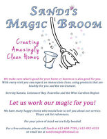 Sandi's Magic Broom Home and Small Office Cleaning Service