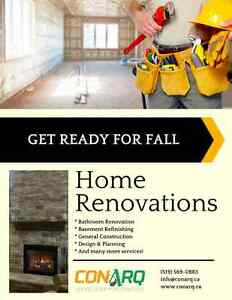Kick-off your Fall Renovations : get a free consultation today Stratford Kitchener Area image 1