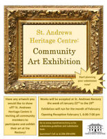 St. Andrews Heritage Centre Art Exhibition