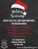Full Body Holiday Bootcamp