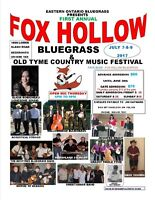 Fox Hollow Bluegrass and Old Tyme Country Music Festival