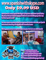 4 Skype Spanish Lessons With Native Teachers Only $ 9.99 US