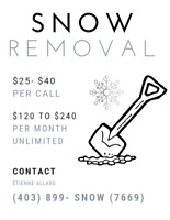 SNOW REMOVAL NE - Let us handle the COLD & SNOW for you!
