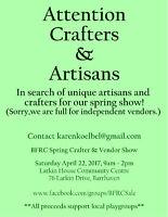 BFRC Spring Crafter & Vendor Show