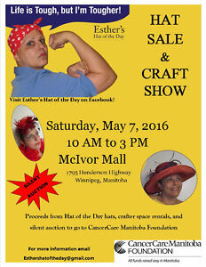 Esther's Hat of the Day Hat Sale and Craft Show
