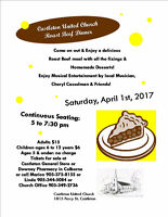 Castleton United Church Roast Beef Dinner