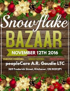 peopleCare A.R. Goudie LTC Snowflake Bazaar Kitchener / Waterloo Kitchener Area image 1