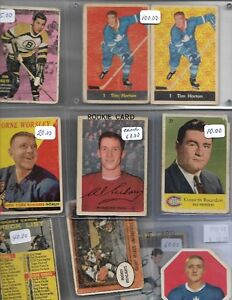 Gigantic vintage hockey card collection