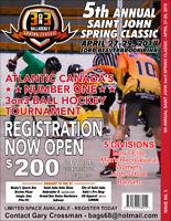 5th Annual 3on3 Ball Hockey Spring Classic