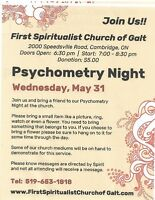 Psychometry Night