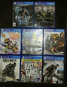 LOT SALE OF PS4 GAMES