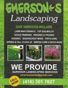 Emerson's Landscaping