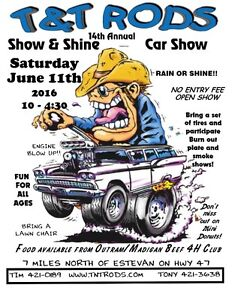 T&T Rods 14th annual Show and Shine
