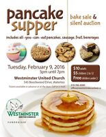 Pancake Supper & Silent Auction