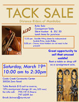 Tack Sale March 19, 2016