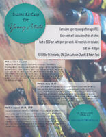 Art Camp for Young Artists