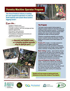 Interested in learning to operate Forestry Equipment?