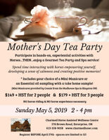 Mom's Special Day - Mother's Day Tea Party & Spa Treatment