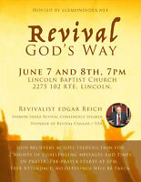 2 Day Event for Church in Fredericton (Revival God's Way)