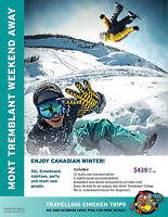 Mont Tremblant long weekend, package