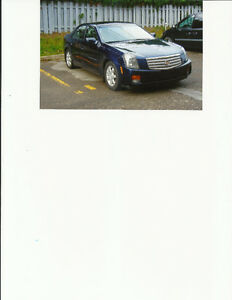 2004 Cadillac CTS or Berline