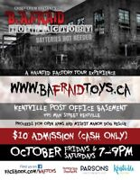 B.A.Fraid Toy Factory Presented by Creep Crew