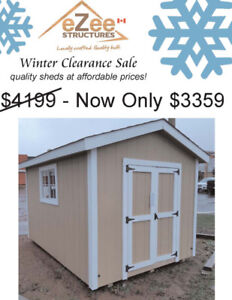8x12 A-Frame Shed for Sale at an unbeatable price!