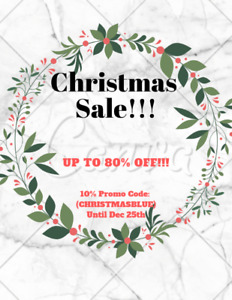Christmas Sale! SAVE UP TO 80% OFF! FREE SHIPPING! FAST! SECURE!