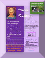Psychic Reading and Intuitive Healing available