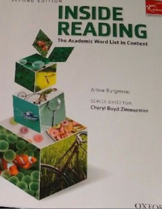 Brand new Inside Reading book 2nd edition