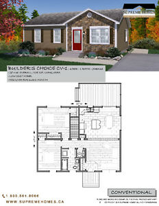 Own a Brand New 2 bedroom, 1 Bathroom Home for $153,900.00