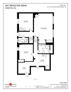 2 Bedroom, 2 Bathroom for lease on Hamilton Mountain!