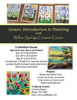 Introduction to Painting Classes for Seniors