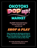Okotoks Pop Up Market