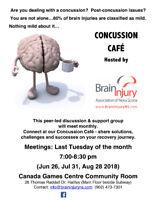 Concussion Café - Concussion Support Group