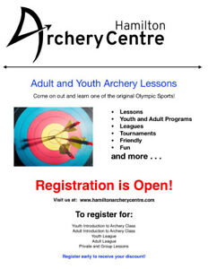 Adult and Youth Archery Lessons